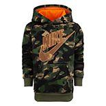 Boys 4-7 Nike Fleece Camo Pullover Hoodie