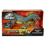 Mattel Jurassic World Super Colossal Velociraptor Blue