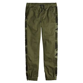Boys 8-20 Urban Pipeline? Camouflage-Inset Jogger Pants