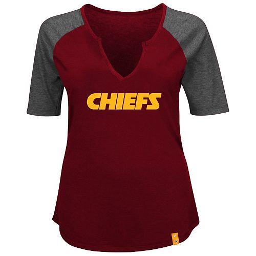 online retailer 6383f 264f9 Plus Size Kansas City Chiefs Winning Attitude Tee
