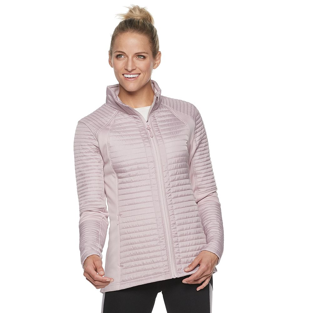 Women's Gaiam Mixed Media Jacket