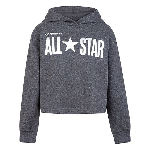 Girls 7-16 Converse French Terry Boxy Hoodie