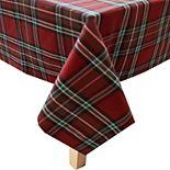 St. Nicholas Square® Fancy Plaid Tablecloth