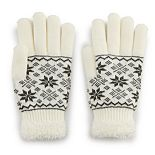 Women's SONOMA Goods for Life? Fair Isle Cozy Gloves