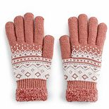 Women's SONOMA Goods for Life? Geo Pattern Cozy Gloves