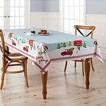 St. Nicholas Square® Tree Farm Tablecloth