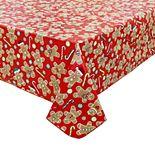 St. Nicholas Square® Gingerbread Vinyl Tablecloth