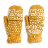 Women's SONOMA Goods for Life? Fair Isle Flip Top Mittens