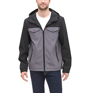 Men's Levi's® Lightweight Arctic Cloth Hooded Rain Jacket
