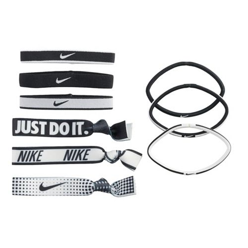 Women's Nike Mixed Ponytail Holder 9-Pack