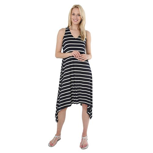 Women's Hudson & Harper Shark-Bite Hem Tank Dress
