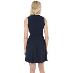 Women's Hudson & Harper Faux-Wrap Dress