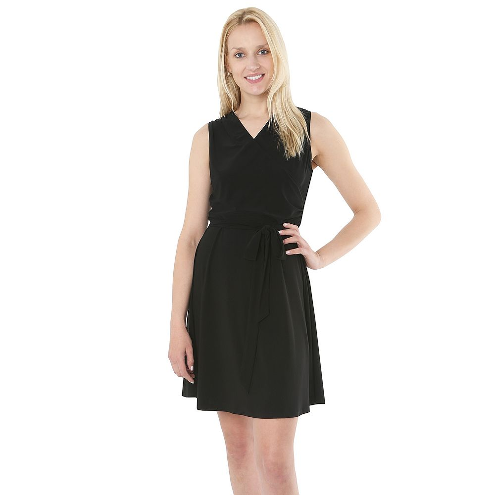 Women's Hudson & Harper Faux-Wrap Dress
