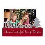 "Malden ""The Most Wonderful..."" Christmas Photo Holder"