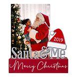 "Malden ""Santa & Me"" Christmas Photo Holder"