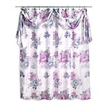 Popular Bath Michelle Shower Curtain & Scarf