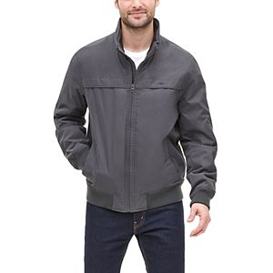 Men's Dockers Microtwill Microfleece-Lined Stand-Collar Bomber Jacket