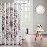 Intelligent Design Lia Printed Medallion Shower Curtain