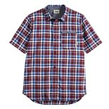 Boys 8-20 Vans Plaid Button-Down Shirt
