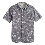 Boys 8-20 Vans Patterned Button-Down Shirt