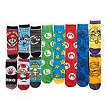 Men's Nintendo Super Mario 12 Days of Socks Combo
