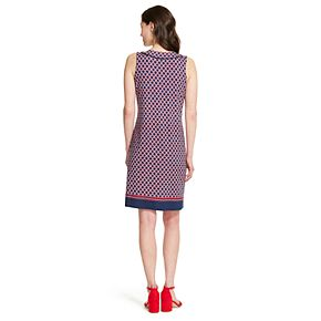 Women's IZOD Print Shift Dress