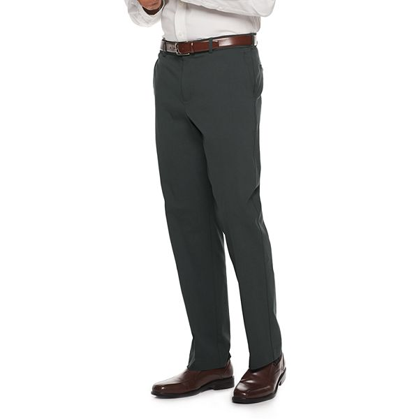 2-Pack Croft & Barrow Men's Classic-Fit Performance Stretch Dress Pants
