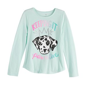 Girls 6-20 & Plus Size SO Long Sleeve Graphic Tee