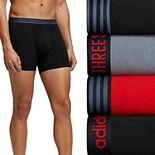 Men's adidas 4-Pack Performance Cotton Stretch Boxer Briefs
