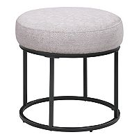 Deals on Scott Living Essex Round Ottoman