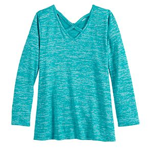 Girls 4-12 SONOMA Goods for Life? Crisscross Knit Top