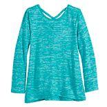 Girls 4-12 SONOMA Goods for Life? Crisscross Knit Top