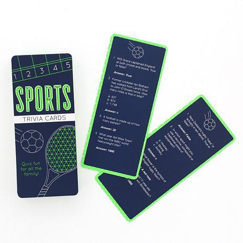 Trivia Quiz Cards - Sports