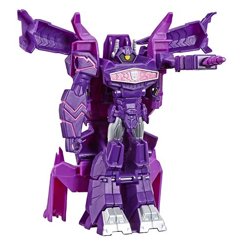 Transformers Toys Cyberverse Action Attackers: 1-Step Changer Shockwave Action Figure by Hasbro