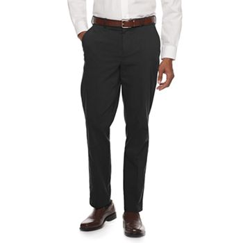 Croft & Barrow Men's Straight-Fit Stretch Dress Pants