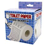 Toilet Paper Word Search