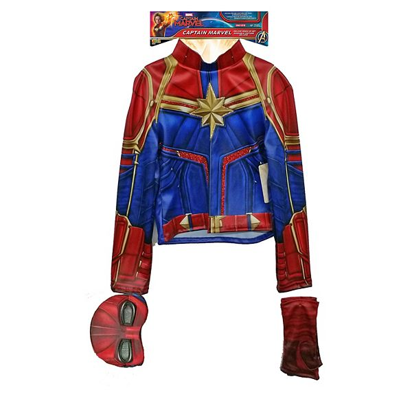 Captain Marvel Dress Up Suit The colors are vibrant, the tulle is soft and billowy, and the fitted cut is a bonus. captain marvel dress up suit