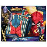 Marvel's Spider-Man Iron Spider Muscle Chest Shirt Box Set
