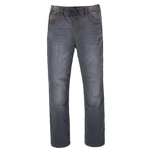 Boys 4-20 Wrangler Knit Denim Jogger Pants in Regular & Husky