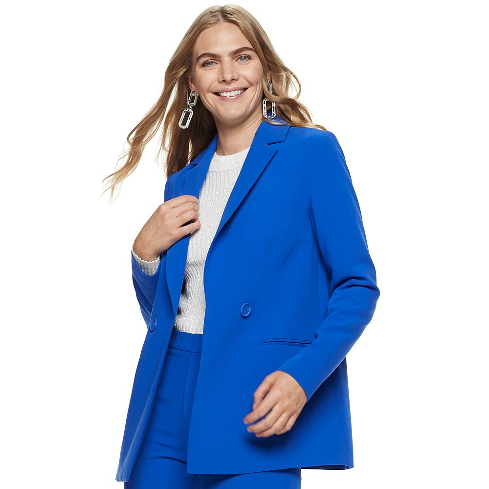 Women's Nine West Double Breasted Blazer