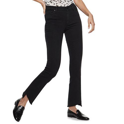 Women's Nine West Delancy High-Rise Kick Flare Jeans