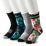 Men's Tek Gear® 4-pack Cushioned Performance Crew Socks