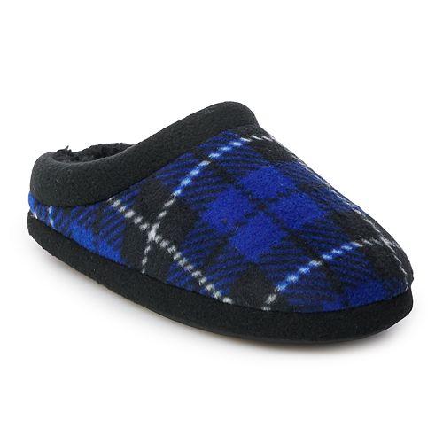 Boys Cuddl Duds® Fleece Clog Slippers