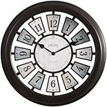 FirsTime Mercantile Plaques Wall Clock
