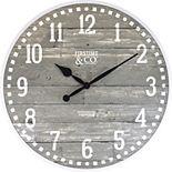 FirsTime Arlo Distressed Wall Clock
