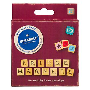 Scrabble Fridge Magnets by Wild & Wolf