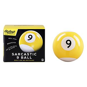 Sarcastic 9 Ball Game by Wild & Wolf