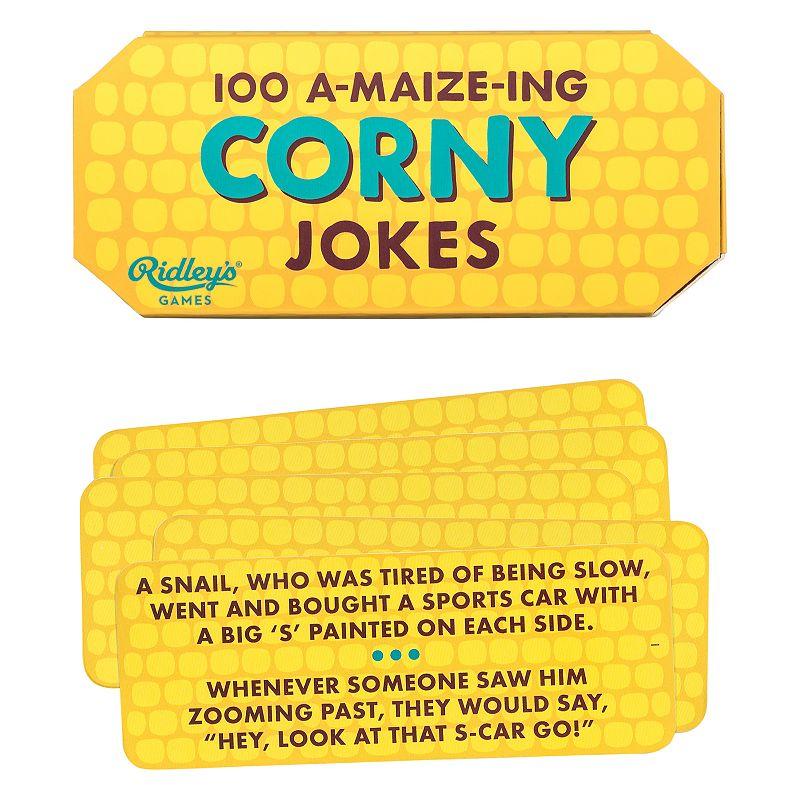 100 Corny Jokes by Wild & Wolf, Yellow