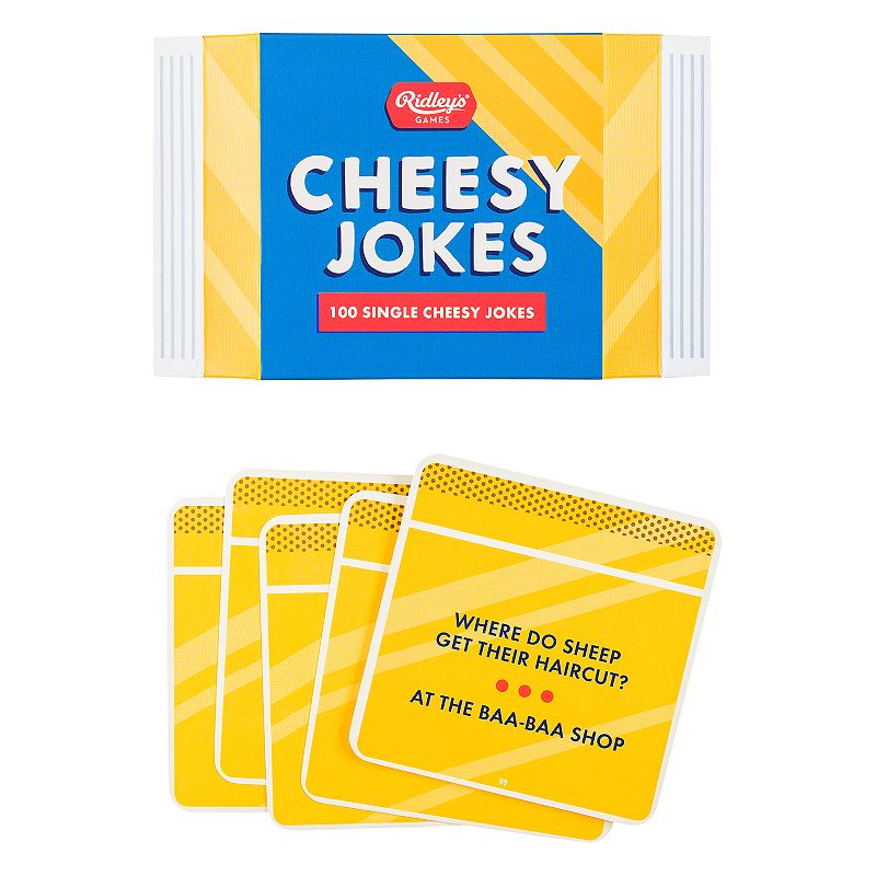 100 Cheesy Jokes by Wild & Wolf, Med Yellow