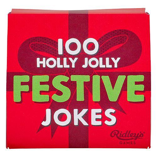Ridley's 100 Festive Jokes by Wild & Wolf